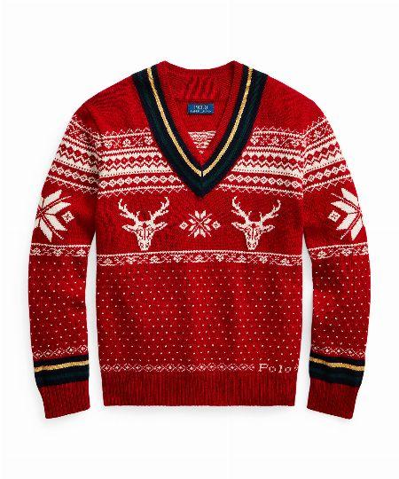 スノーフレーク クリケット セーター