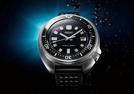 1968年モデルに採用したワンピースケースで、深海での圧倒的信頼性を獲得