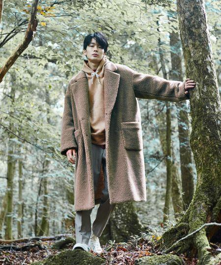 ボアコートを着こなせば、冬のコートスタイルが一気に鮮度アップ