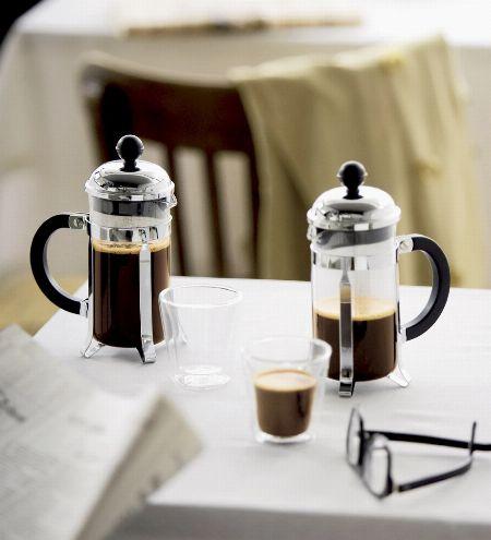 フレンチプレス用コーヒーメーカーといえば、まずはココ。『ボダム』の製品をチェック