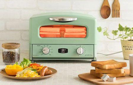 料理好きから圧倒的支持。万能調理器具、『アラジン』のトースター