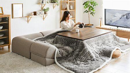 こたつソファを導入して、冬のこたつライフをもっと快適に