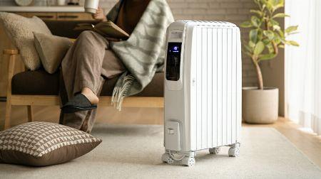 オイルヒーターは、クリーンかつ効果的に部屋を暖められる優れモノ