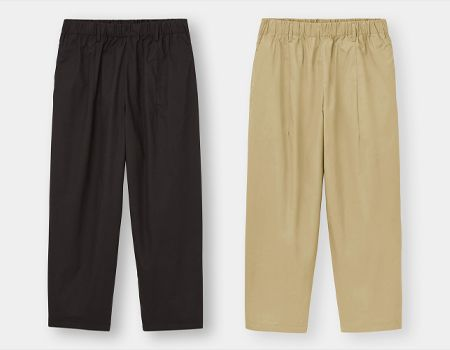 今っぽさもコスパも両取り。GUの新作パンツがあまりに有能すぎる 11枚目の画像