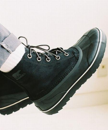 雨でも雪でももってこい。どうせブーツを買うなら、防水性は重視したい