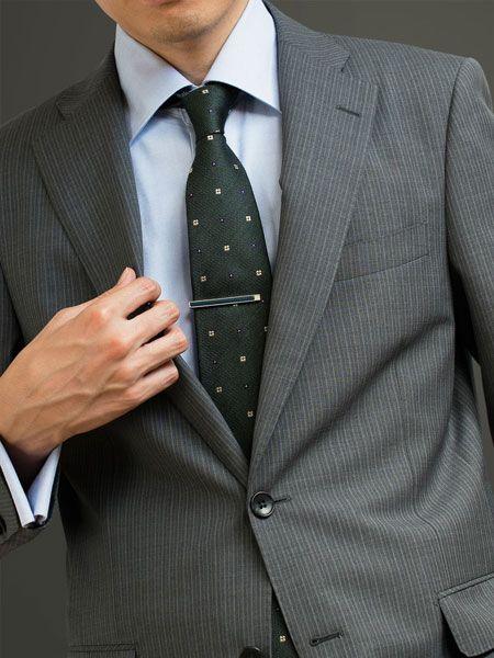 男性ビジネスマンへのプレゼントで迷ったら、ネクタイピンがおすすめ 2枚目の画像