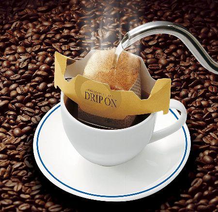 手間なしでドリップコーヒーの味が楽しめる。ドリップバッグを、試してみない?