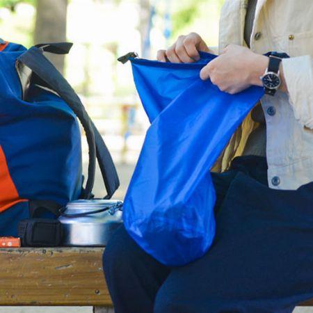 普段から活用したい。スタッフバッグがあれば、こんなに便利