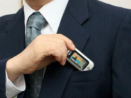 気軽に携帯できる「ポケットイン」タイプ