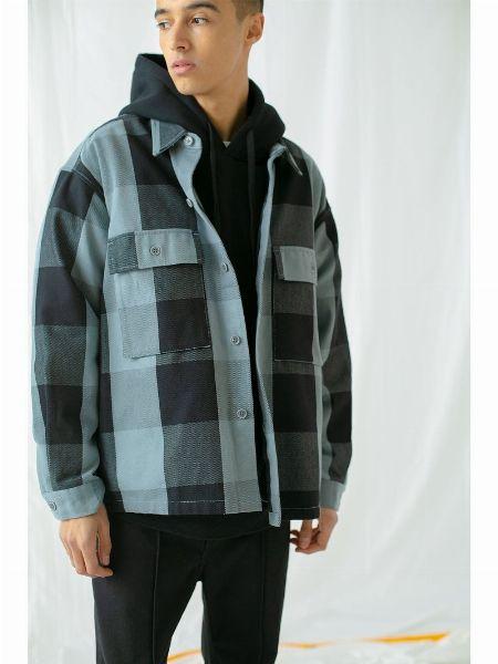 『モンキータイム』クロップドシャツジャケット