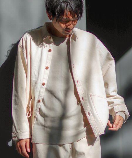『ジャーナル スタンダード  レリューム』×『スミス』別注シャツ カバーオール