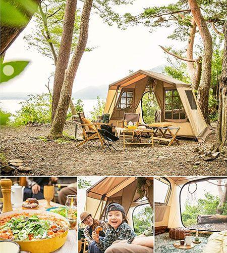 『オガワ』のテントの特徴とは