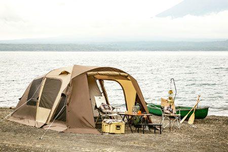 ファミリーキャンプの王道なら2ルームテントがおすすめ