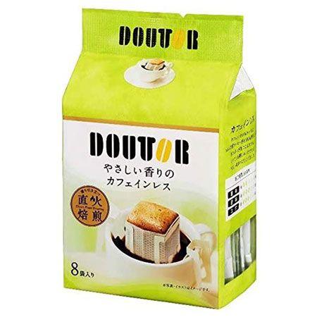 『ドトールコーヒー』ドリップパックやさしい香りのカフェインレス