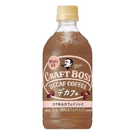 『サントリー』クラフトボス デカフェ カフェインレス コーヒー