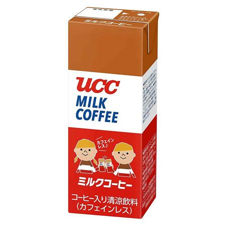 『ユーシーシー』ミルクコーヒー カフェインレス(紙パック)