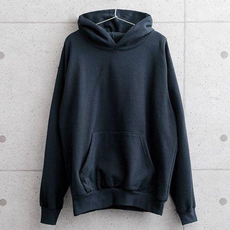 14オンス ヘビーフリース フード付きプルオーバー スウェットシャツ