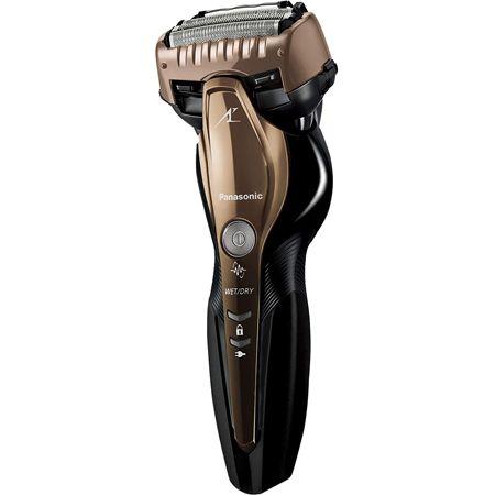 ラムダッシュ メンズシェーバー 3枚刃 お風呂剃り可 ゴールド調 ES-ST8S-N