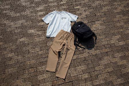 心地良い服でストレス軽減。エドウイン発のフリー(F.L.E)を街着にもアクティビティにも 5枚目の画像