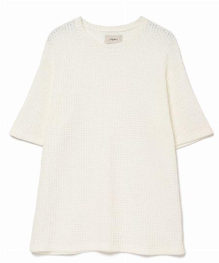 ビッグワッフルTシャツ