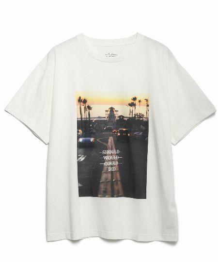 オーガニックコットンジャージーTシャツ
