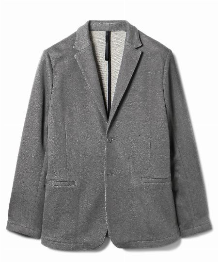 「度詰め裏毛」のジャケット&パンツ