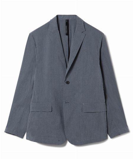 「コットンナイロンシャンブレー」のジャケット&パンツ