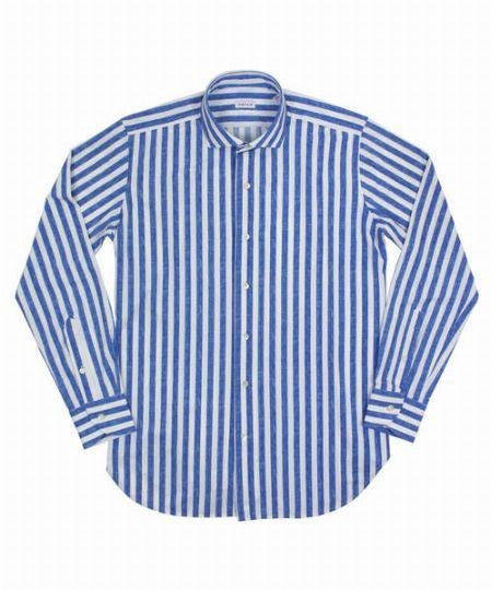 『オリアン』のシャツをおしゃれに着るなら、サイズ感をしっかり吟味すべし
