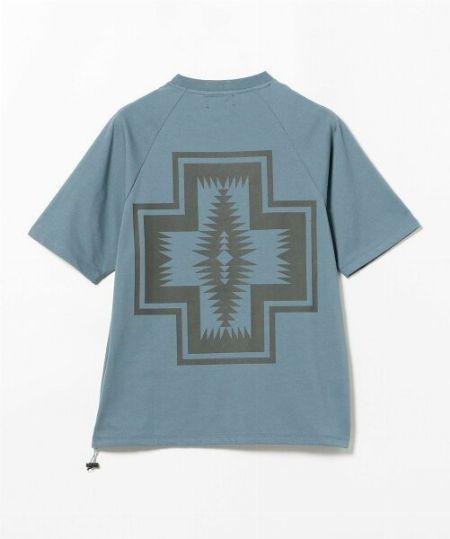 『ジャーナル スタンダード』×『ペンドルトン』別注 バックプリントTシャツ