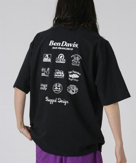 『シップス』×『ジャムス』別注 バックプリント ロゴ Tシャツ