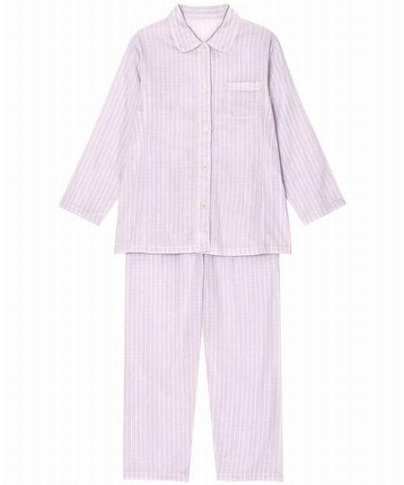『ウイング』シャツタイプのパジャマ