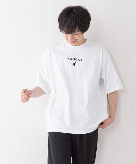 ワンポイントロゴ刺繍入り ビッグシルエットTシャツ