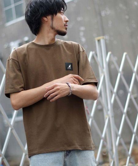 『ジップファイブ』別注ボックスロゴプリント半袖Tシャツ