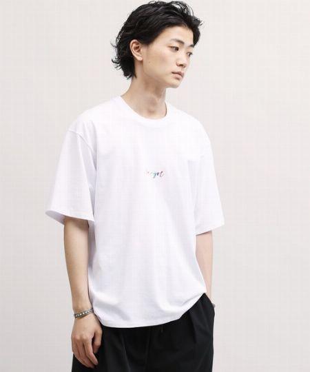 『ルルアンドアーニー』別注 コラボ ロゴ 刺繍 ビッグシルエット 半袖 Tシャツ
