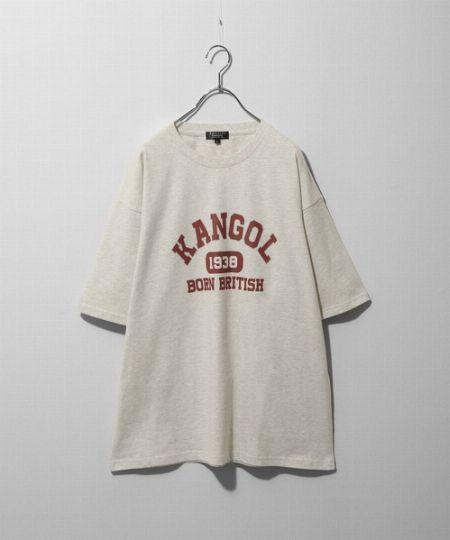 『ジップファイブ』別注カレッジロゴTシャツ