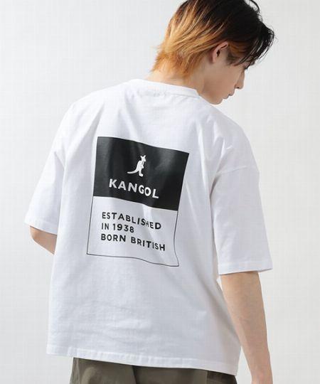 『スラッシュデイト』別注オーバーサイズ バックロゴ Tシャツ