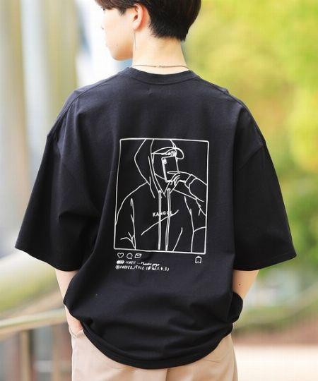 『エアートウキョー』別注 コラボ オーバーサイズ ヘビーウェイト 刺繍 ロゴ Tシャツ