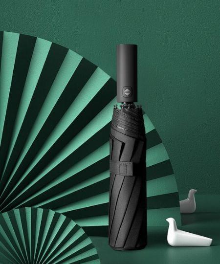 『ラコレ』タイポパターン折りたたみ傘