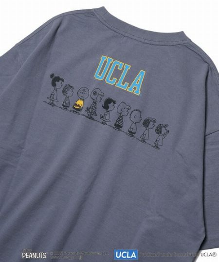 『UCLA.』×『ピーナッツ』バックプリントT