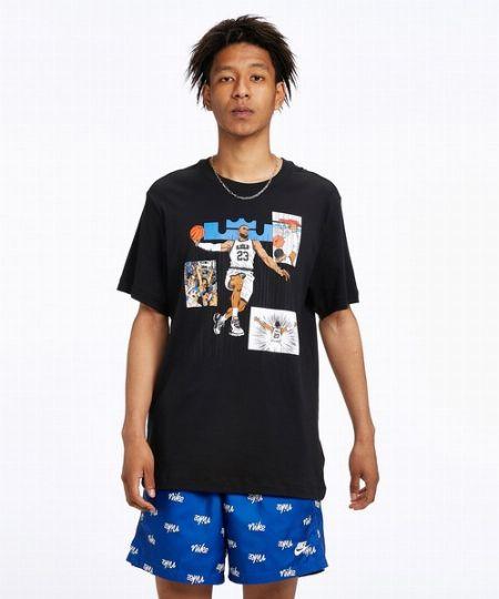 『ナイキ』レブロン ロゴ バスケットボールTシャツ