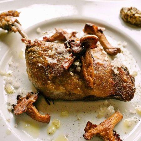 『ビストロ ボレロ』フランス産 鴨のコンフィ