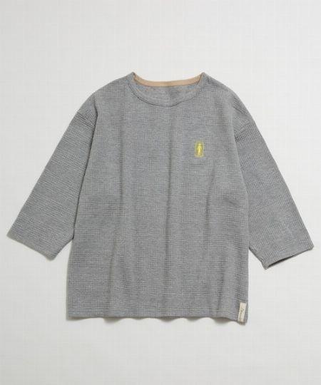 『アレキサンダーリーチャン』ワッフルビッグシルエットロングスリーブTシャツ