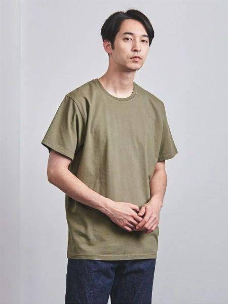 『ナノ・ユニバース』ノーマフィン  スタンディングクルーネックTシャツ
