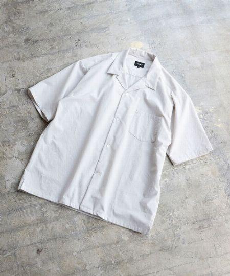 『ビームス』ソロテックスオープンカラーシャツ