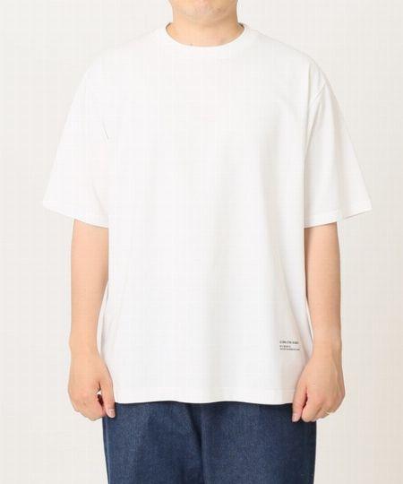『ジャーナル スタンダード レリューム』スーピマ ソロテックス プレーティングTシャツ