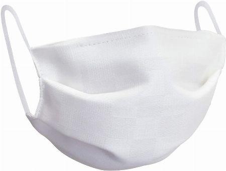 『オオキニ』小杉織物 夏用涼やか絹マスク