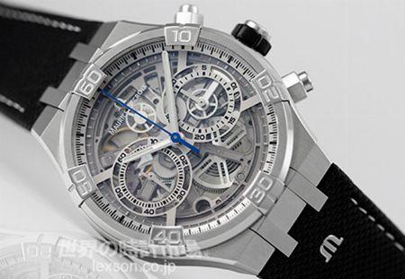時間の概念を可視化。スケルトン時計に誰もが一度は憧れる