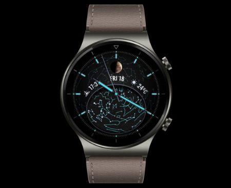 ▼モデル1:贅沢な素材の中に、圧倒的多機能を秘めた「HUAWEI Watch GT 2 Pro」