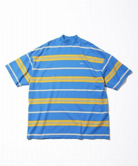 『ノーティカ』マルチボーダーハイネックTシャツ