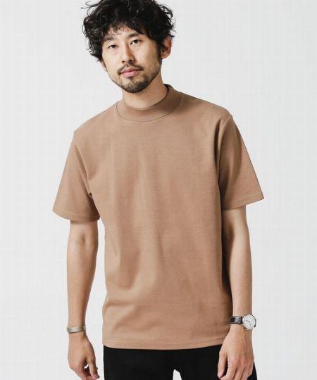 『ナノ・ユニバース』アンチスメル モックネックTシャツ